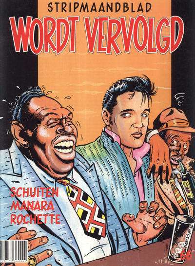 Cover for Wordt Vervolgd (Casterman, 1980 series) #66