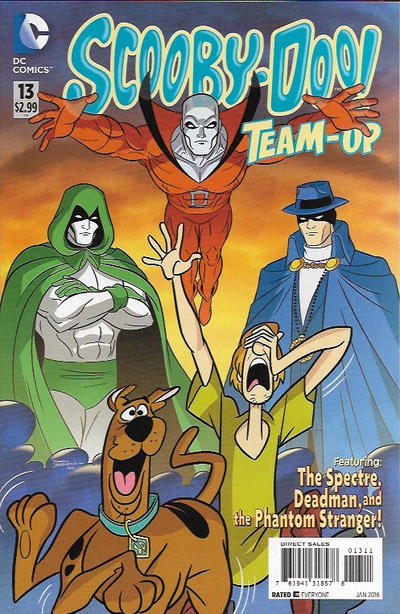 Cover for Scooby-Doo Team-Up (DC, 2014 series) #13 [Direct Sales]