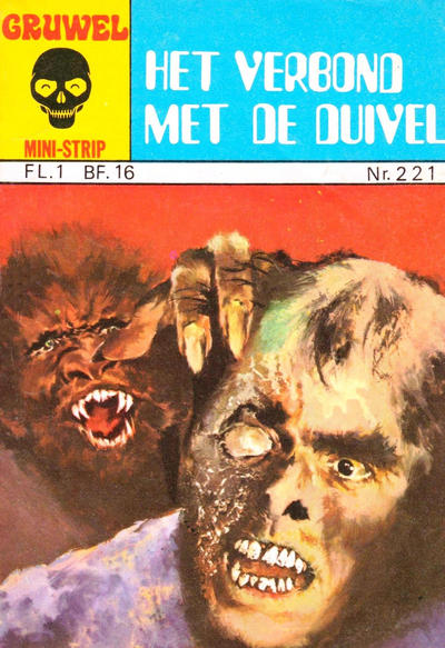 Cover for Gruwel mini-strip (Juniorpress, 1976 series) #221