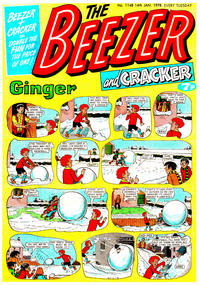 Cover Thumbnail for The Beezer and Cracker (D.C. Thomson, 1976 series) #1148