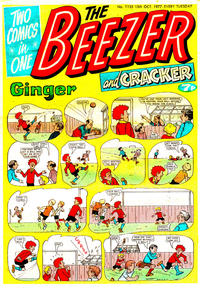 Cover Thumbnail for The Beezer and Cracker (D.C. Thomson, 1976 series) #1135