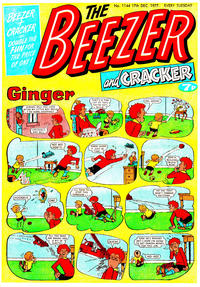 Cover Thumbnail for The Beezer and Cracker (D.C. Thomson, 1976 series) #1144