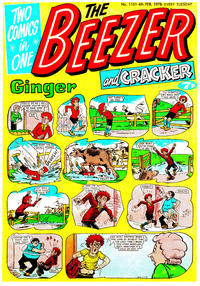 Cover Thumbnail for The Beezer and Cracker (D.C. Thomson, 1976 series) #1151