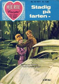 Cover Thumbnail for Hjerterevyen (Serieforlaget / Se-Bladene / Stabenfeldt, 1960 series) #12/1971