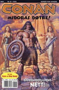 Cover Thumbnail for Conan (Bladkompaniet / Schibsted, 1990 series) #13/2005