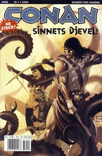 Cover Thumbnail for Conan (Bladkompaniet / Schibsted, 1990 series) #1/2006