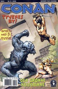 Cover Thumbnail for Conan (Bladkompaniet / Schibsted, 1990 series) #3/2006