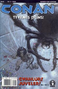 Cover Thumbnail for Conan (Bladkompaniet / Schibsted, 1990 series) #5/2006