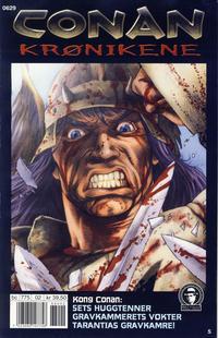 Cover Thumbnail for Conan Krønikene (Bladkompaniet / Schibsted, 2005 series) #5