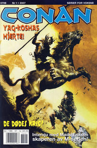 Cover Thumbnail for Conan (Bladkompaniet / Schibsted, 1990 series) #1/2007