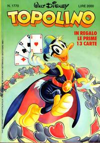 Cover Thumbnail for Topolino (The Walt Disney Company Italia, 1988 series) #1770