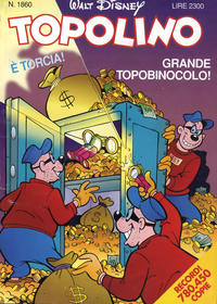 Cover Thumbnail for Topolino (Disney Italia, 1988 series) #1860