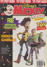 Cover Thumbnail for Mickey and Friends (Fleetway Publications, 1992 series) #11/1996