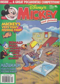 Cover Thumbnail for Mickey and Friends (Fleetway Publications, 1992 series) #42/1995