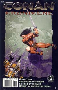 Cover Thumbnail for Conan Krønikene (Bladkompaniet / Schibsted, 2005 series) #6