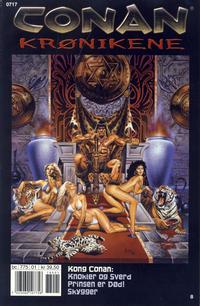 Cover Thumbnail for Conan Krønikene (Bladkompaniet / Schibsted, 2005 series) #8