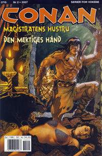 Cover Thumbnail for Conan (Bladkompaniet / Schibsted, 1990 series) #2/2007