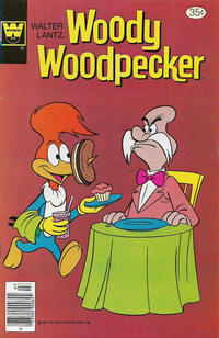 Cover Thumbnail for Walter Lantz Woody Woodpecker (Western, 1962 series) #168 [Whitman]