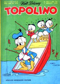 Cover Thumbnail for Topolino (Arnoldo Mondadori Editore, 1949 series) #766