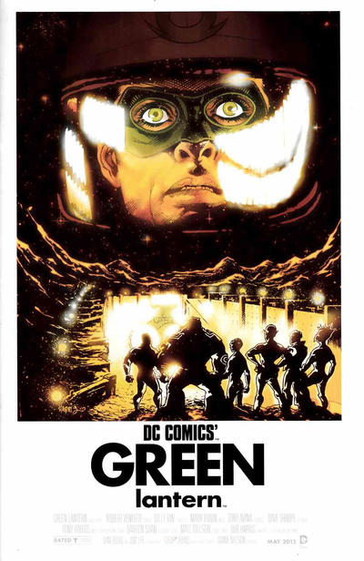 Cover for Green Lantern (DC, 2011 series) #40 [2001 A Space Odyssey WB Movie Poster Variant]