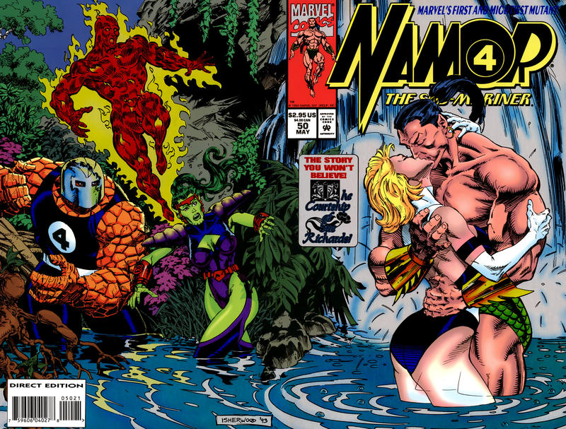 Cover for Namor, the Sub-Mariner (Marvel, 1990 series) #50