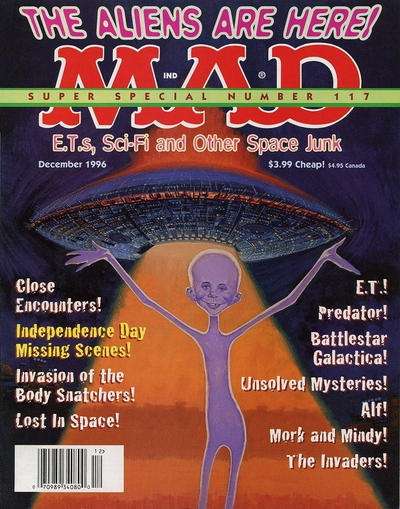 Cover for Mad Special [Mad Super Special] (EC, 1970 series) #117