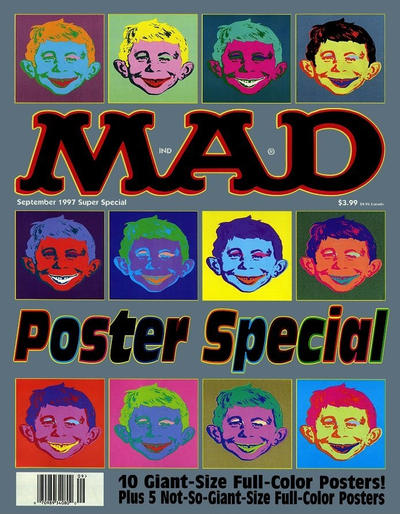 Cover for Mad Special [Mad Super Special] (EC, 1970 series) #123