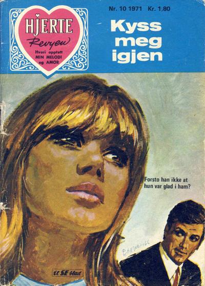 Cover for Hjerterevyen (Serieforlaget / Se-Bladene / Stabenfeldt, 1960 series) #10/1971
