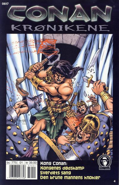 Cover for Conan Krønikene (Bladkompaniet / Schibsted, 2005 series) #4