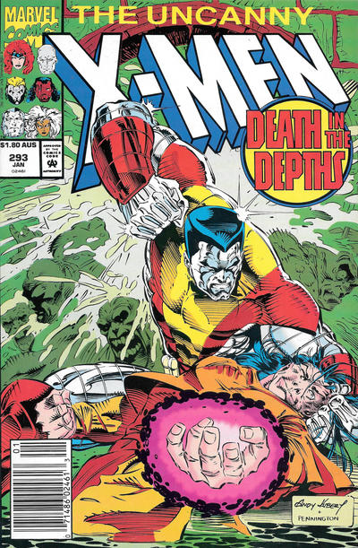 Cover for The Uncanny X-Men (Marvel, 1981 series) #293