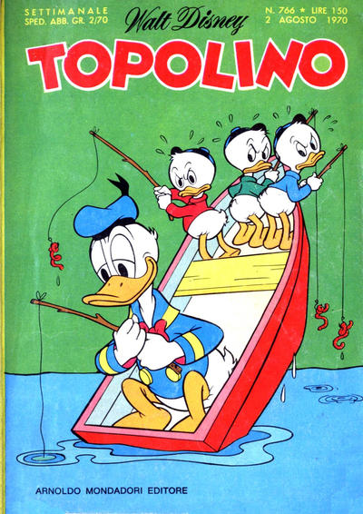 Cover for Topolino (Arnoldo Mondadori Editore, 1949 series) #766