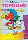 Cover for Topolino (Arnoldo Mondadori Editore, 1949 series) #1079