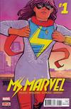 Cover Thumbnail for Ms. Marvel (2016 series) #1 [Regular Cover]