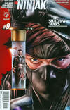 Cover for Ninjak (Valiant Entertainment, 2015 series) #9 [Cover A - Mico Suayan]