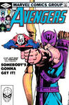 Cover for The Avengers (Marvel, 1963 series) #223 [Direct Edition]