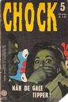 Cover for Chock (Interpresse, 1966 series) #5