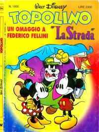 Cover Thumbnail for Topolino (Disney Italia, 1988 series) #1866