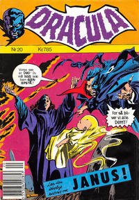 Cover for Dracula (Winthers Forlag, 1982 series) #20