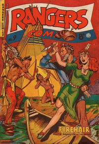 Cover Thumbnail for Rangers Comics (H. John Edwards, 1950 ? series) #9