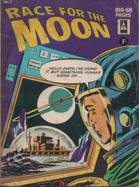 Cover Thumbnail for Race for the Moon (Thorpe & Porter, 1962 ? series) #7