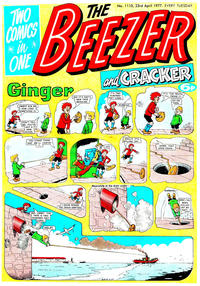 Cover Thumbnail for The Beezer and Cracker (D.C. Thomson, 1976 series) #1110