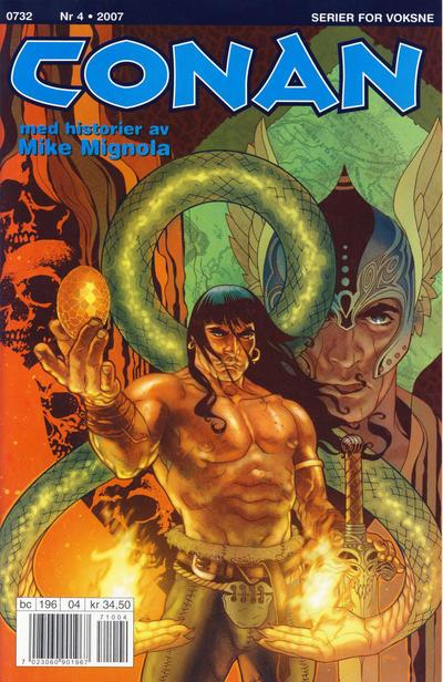 Cover for Conan (Bladkompaniet / Schibsted, 1990 series) #4/2007