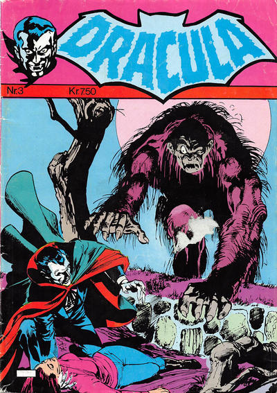 Cover for Dracula (Winthers Forlag, 1982 series) #3