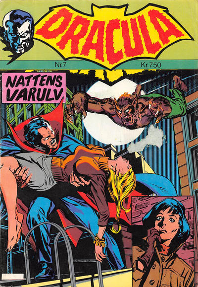 Cover for Dracula (Winthers Forlag, 1982 series) #7