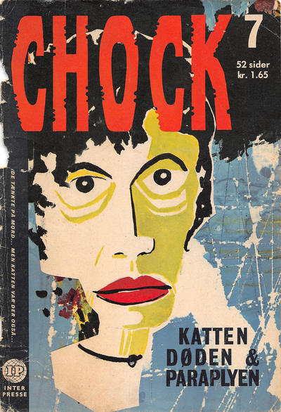 Cover for Chock (Interpresse, 1966 series) #7