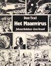 Cover for [Oberon zwartwit-reeks] (Oberon, 1976 series) #42 - Dan Teal: Het maanvirus