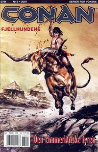 Cover Thumbnail for Conan (Bladkompaniet / Schibsted, 1990 series) #6/2007