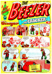 Cover Thumbnail for The Beezer and Cracker (D.C. Thomson, 1976 series) #1145