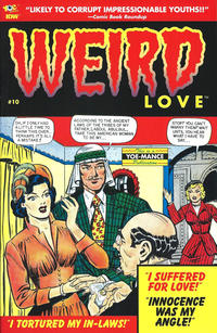 Cover Thumbnail for Weird Love (IDW, 2014 series) #10