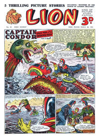 Cover Thumbnail for Lion (Amalgamated Press, 1952 series) #58